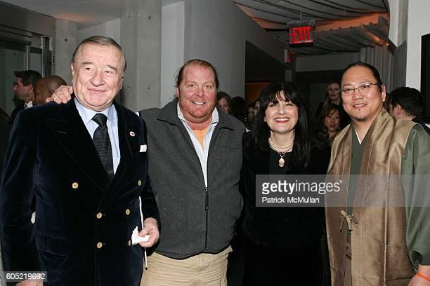 Sirio Maccioni Mario Batali Ruth Reichl and Masaharu Morimoto attend Gourmet Magazine's 65th Year Anniversary With a First Look at Morimoto New York...