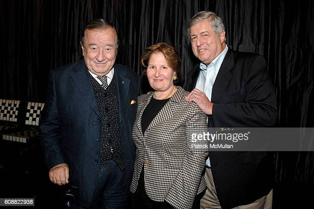 Sirio Maccioni Nina Zagat and Tim Zagat attend A TABLE IN HEAVEN Screening Afterparty A Film By Andrew Rossi About Le Cirque Founder SIRIO MACCIONI...