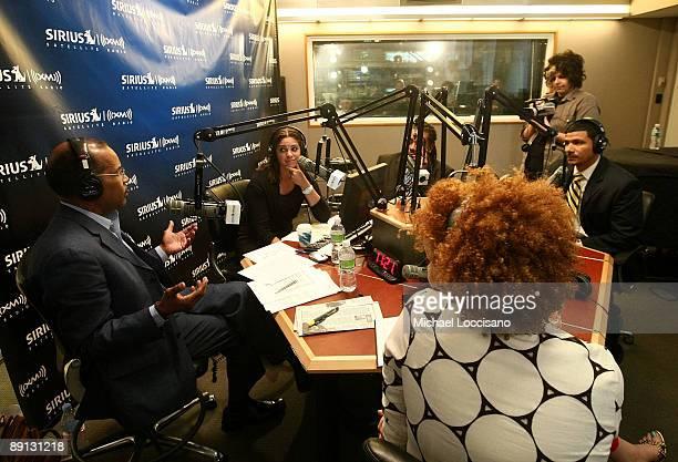 Sirius XM host Joe Madison correspondent Soledad O'Brien Sirius XM host Mark Thompson Cultural critic Michaela angela Davis and Educator Steve Perry...