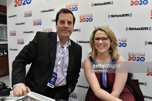 Sirius XM POTUS Morning Briefing on air host Tim Farley speaks with Principle Deputy Communications Director Trump 2020 Erin Perrine live on air at...