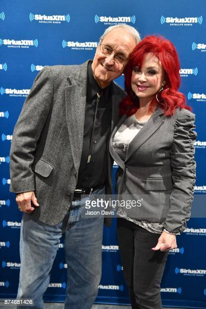 SiriusXM Host Charlie Monk and Recording Artist and Author Naomi Judd arrive at the SiriusXM Music City Theatre on November 15 2017 in Nashville City