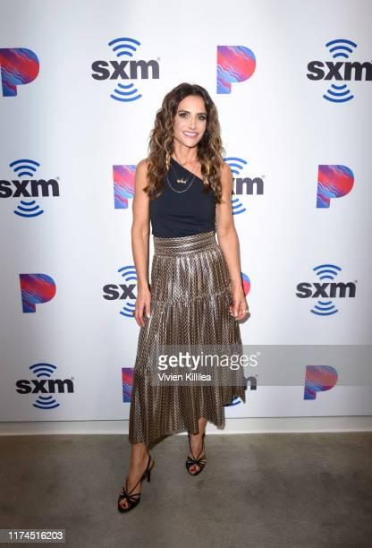 SiriusXM Host Emily Morse attends the Opening Of SiriusXM Pandora LA Studios on October 7 2019 in Los Angeles California
