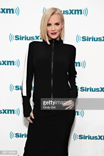 SiriusXM host Jenny McCarthy poses for a photo at the SiriusXM Studios on November 30 2017 in New York City
