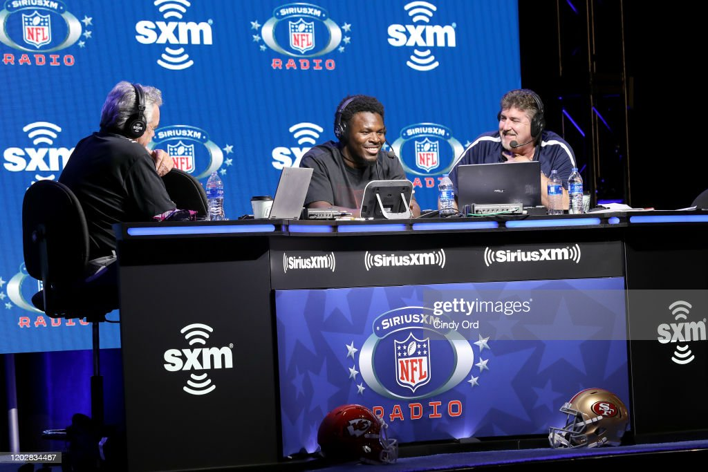 SiriusXM At Super Bowl LIV - Day 1 : News Photo