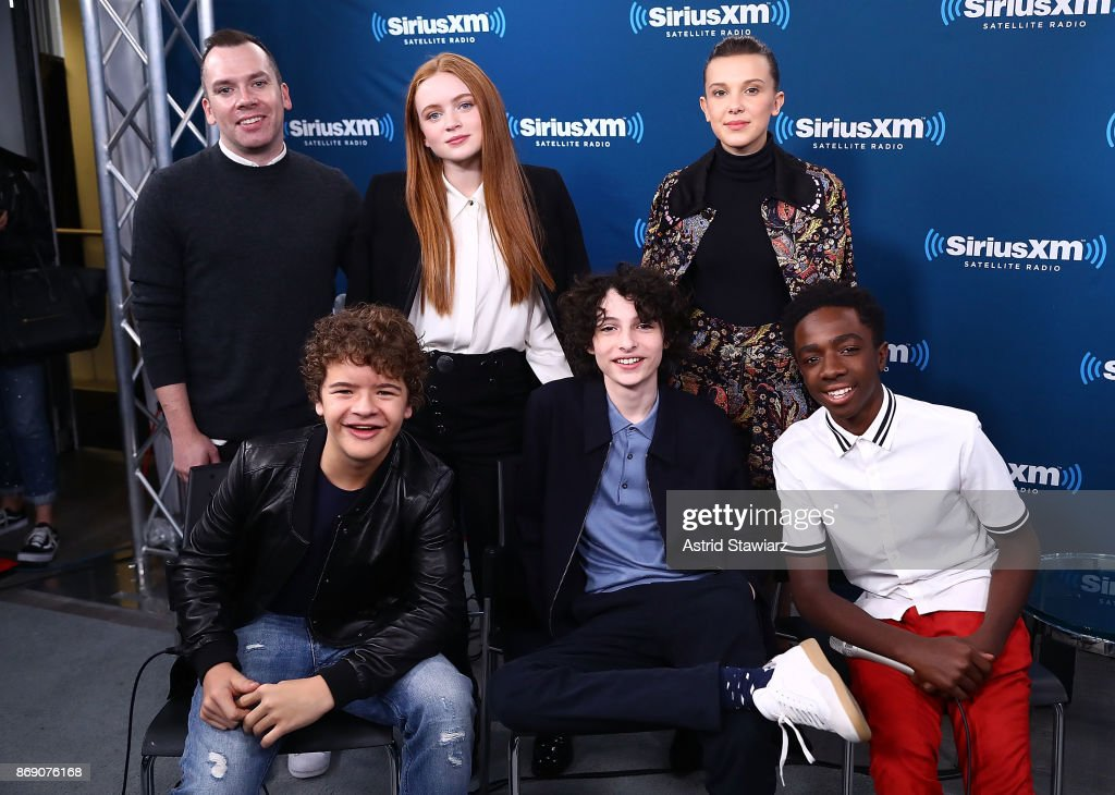 SiriusXM's 'Town Hall' With The Cast Of Stranger Things; Town Hall To Air On SiriusXM's Entertainment Weekly Radio : News Photo