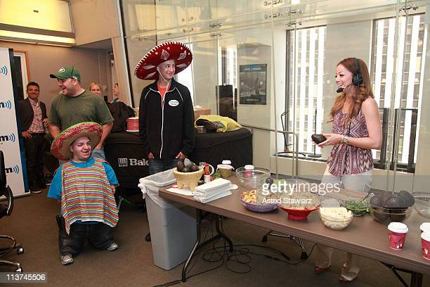 SiriusXM hosts Covino Rich host their annual Cinco de Mayo GuacOff with special guests Marcela Valladolid chef cookbook author host of Food Network's...