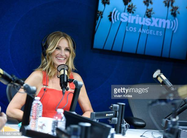 SiriusXM Launches The Jess Cagle Show With Julia Roberts Live From The SiriusXM Hollywood Studios on September 16 2019 in Los Angeles California