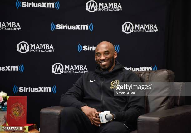 SiriusXM Presents A Town Hall With NBA Legend Kobe Bryant at the Mamba Sports Academy on March 28 2019 in Newbury Park California