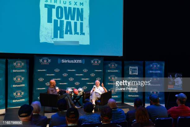 SiriusXM presents a town hall with pro football Hall of Fame inductee Gil Brandt hosted by Drew Pearson at Umstattd Hall at the Zimmerman Symphony...