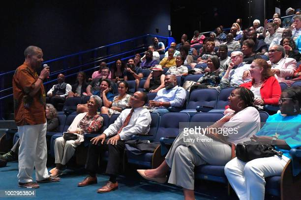 SiriusXM radio personality Joe Madison appears at Civil Rights and Comedy the Unforgettable Dick Gregory at the March On Washington Film Festival on...