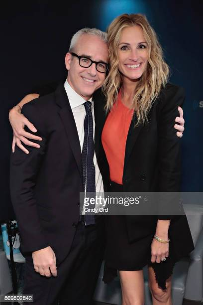 SiriusXM's 'EW Spotlight' with Julia Roberts hosted by Editorial Director of People and EW Jess Cagle on November 2 2017 in New York City