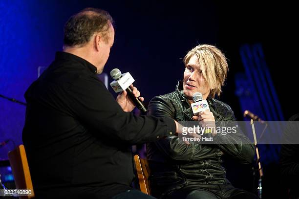 SiriusXM's Jim Ryan interviews John Rzeznik of Goo Goo Dolls at City Winery on November 14 2016 in Chicago Illinois