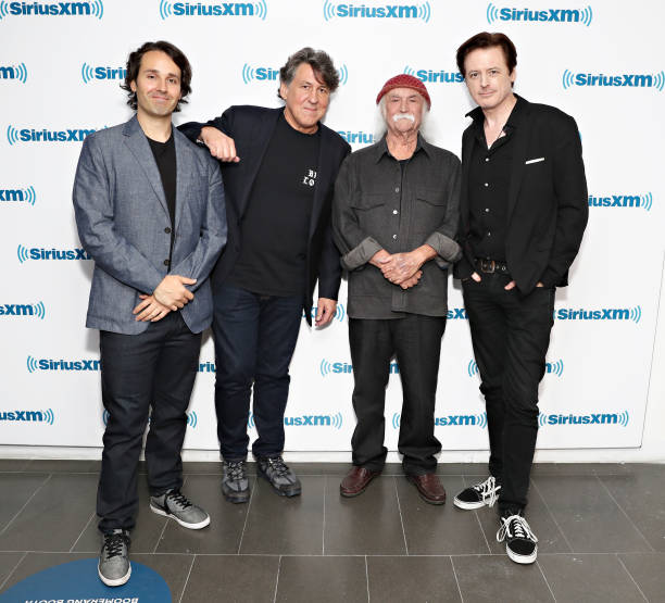 NY: SiriusXM's Town Hall With David Crosby And Cameron Crowe Hosted By John Fugelsang
