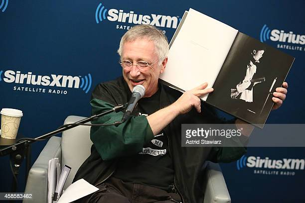 SiriusXM's 'Town Hall' with Jimmy Page hosted by Earle Bailey On SiriusXM's Classic Vinyl channel at SiriusXM Studios on November 7, 2014 in New York...