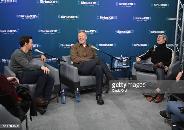 SiriusXM's Town Hall with Mark Wahlberg and Will Ferrell hosted by Andy Cohen at SiriusXM Studios on November 8 2017 in New York City