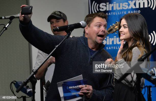 SiriuxXM's host Storme Warren and Singer/Songwriter Lucy Hale hang out before Singer/Songwriter/Actor Lucy Hale Releases Debut Country Single You...