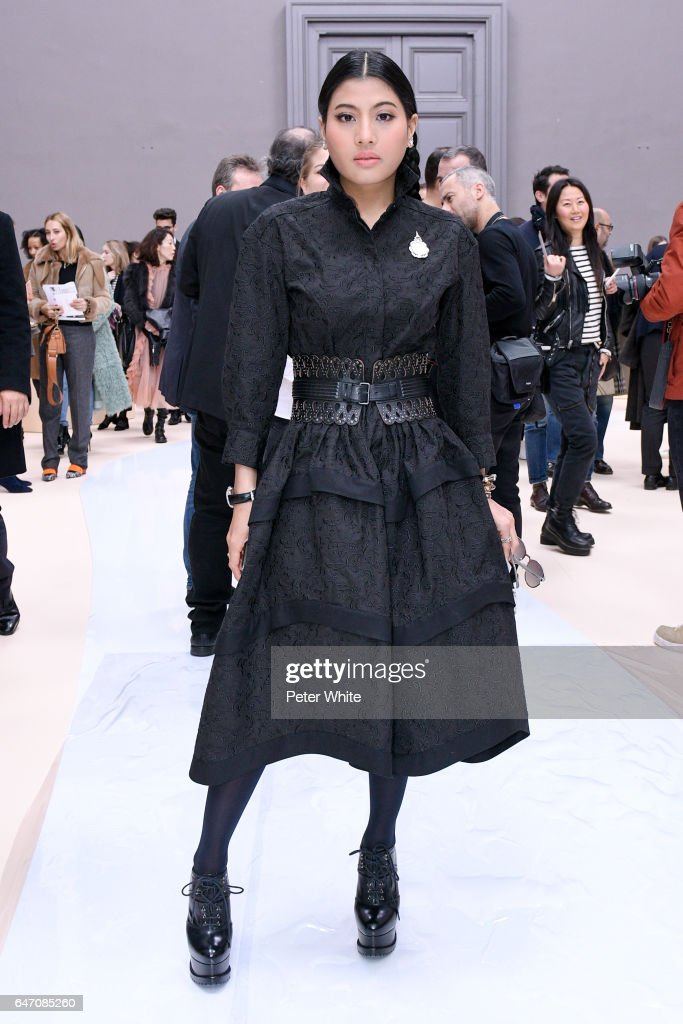 Sirivannavari Nariratana attends the Chloe show as part of the Paris Fashion Week Womenswear Fall/Winter 2017/2018 on March 2, 2017 in Paris, France.