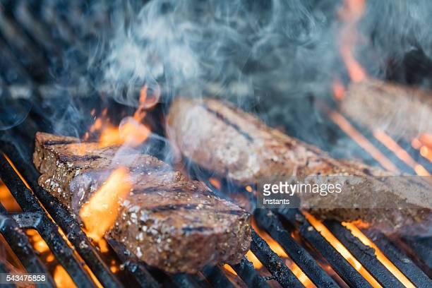 Lendenfilet Steak auf dem Grill