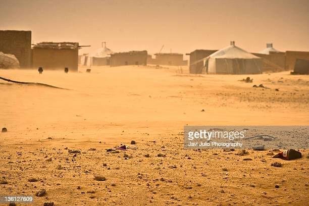 Siroco, wind of Sahara desert
