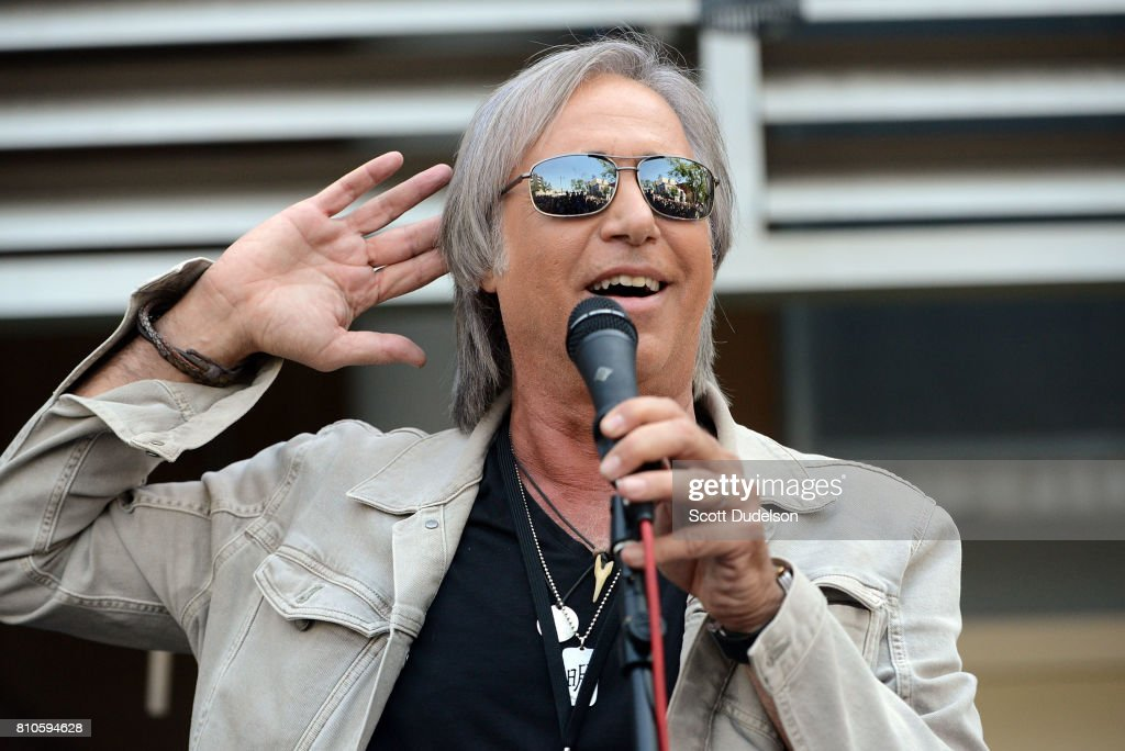 SirusXM Breakfast with the Beatles DJ Chris Carter celebrates Ringo Starr's 77th birthday with friends and fans at the annual 'Peace & Love' celebration at Capitol Records Tower on July 7, 2017 in Los Angeles, California.