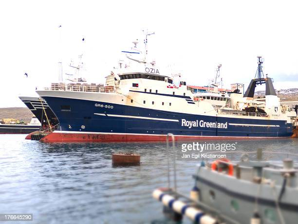 CONTENT] Sisimiut a Royal Greenland trawler moored in Tórshavn