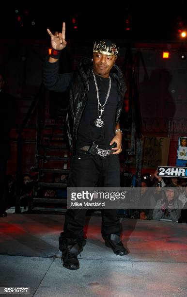 Sisqo is the fifth to be evicted from this year's Celebrity Big Brother at Elstree Studios on January 22 2010 in Borehamwood England
