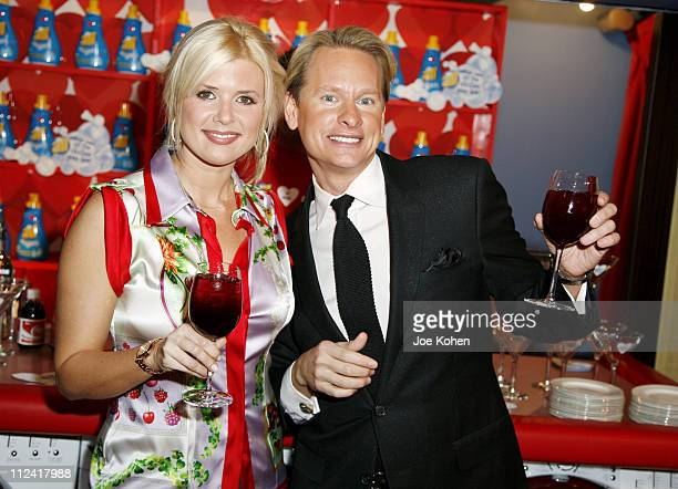 Sissi and Carson Kressley during Carson Kressley Hosts all Clothing Love Affair Party at Gramercy Park Hotel in New York City New York United States