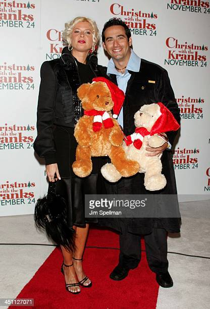 Sissi and Rene Lavan during Christmas with The Kranks New York City Premiere Outside Arrivals at Radio City Music Hall in New York City New York...