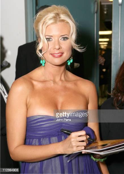 Sissi during 2005 Premios Fox Sports Press Room at Jackie Gleason Theater in Miami Beach Florida United States
