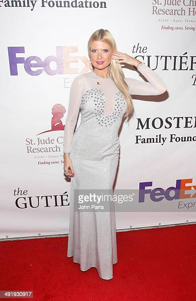 Sissi Fleitas attends the St Jude Angels and Stars Gala at JW Marriott Marquis on May 17 2014 in Miami Florida