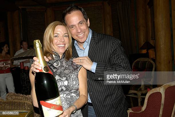 Sissy Biggers and Geoffrey Zakarian attend Maison Cordon Rouge House / Champagne Mumm / Sushi Soiree hosted by Sissy Biggers Ming Tsai at Maison...