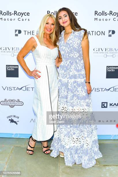 Sissy DeMariaKoehne and Chloe Peebles attend Peebles Corporation And RollsRoyce Saddle Up With Georgina Bloomberg Give Back For Special Equestrians...