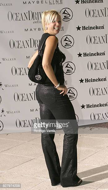 Sissy during 4th Annual Latin GRAMMY Awards After Party at The Loews Hotel in Miami Beach Florida United States