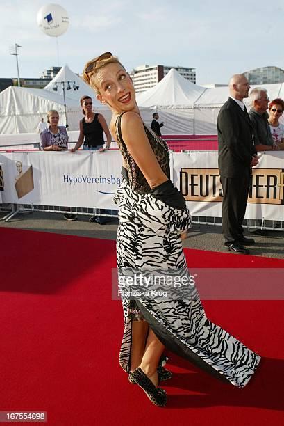 Sissy Perlinger Bei Der Verleihung Des Deutschen Filmpreis Im Berliner Tempodrom