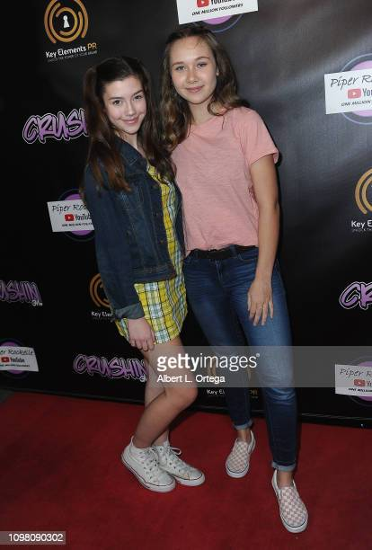 Sissy Sheridan and Erin Reese Dejarnette arrive for Gavin Magnus Video Release For Crushin And Celebration Of 1 Million YouTube Followers For Piper...