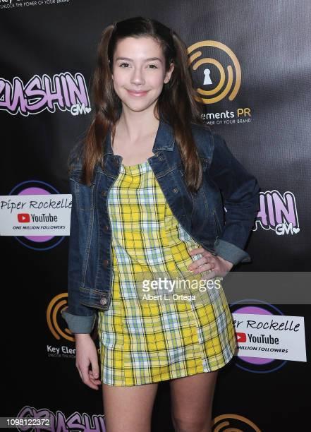 Sissy Sheridan arrives for Gavin Magnus Video Release For Crushin And Celebration Of 1 Million YouTube Followers For Piper Rockelle on February 11...