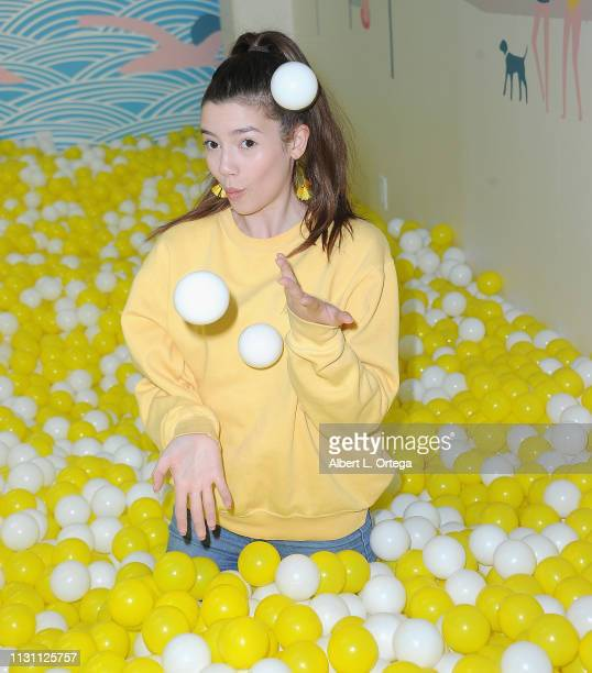 Sissy Sheridan attends Talent And Influencer Day At The Egg House held at The Egg House on March 16 2019 in Los Angeles California