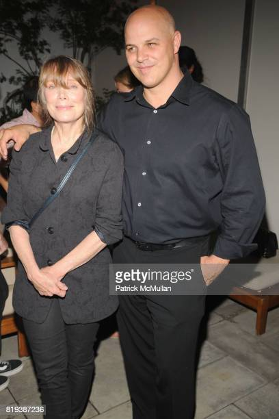 Sissy Spacek and Joey Rappa attend THE CINEMA SOCIETY SONY ALPHA NEX host the after party for GET LOW at Soho Grand Hotel on July 21 2010 in New York...