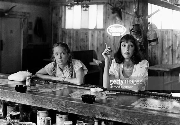 Sissy Spacek and Shelley Duvall in a scene from the Robert Altman film Three Women.