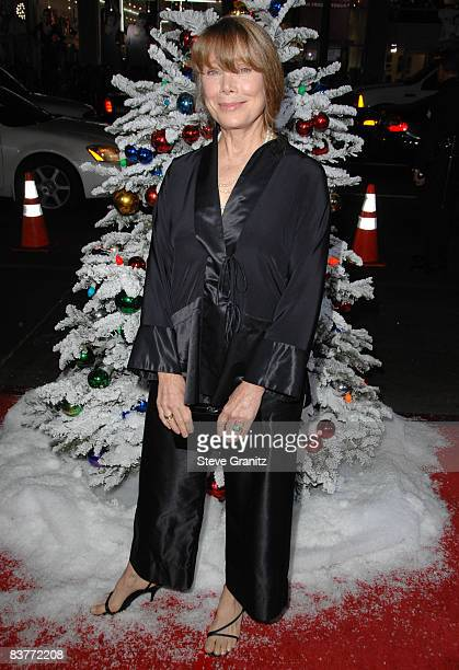 Sissy Spacek arrives at the Los Angeles Premiere for Four Christmases at the Grauman's Chinese Theater on November 20 2008 in Hollywood California