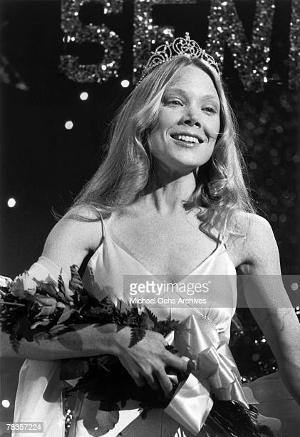 Sissy Spacek attends her high school prom in the Brian De Palma horror classic Carrie based on the Stephen King novel in 1976 in Los Angeles...