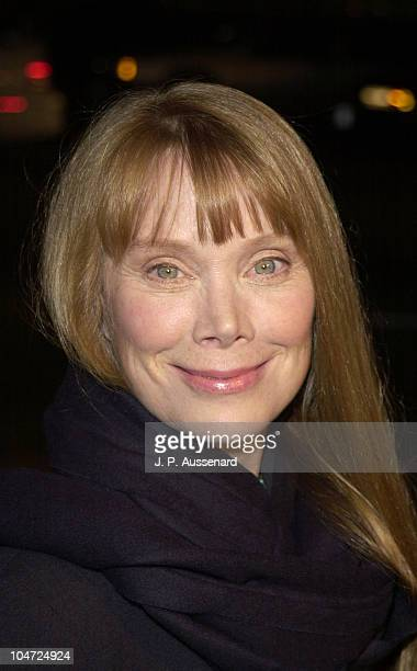 Sissy Spacek during 'In The Bedroom' Beverly Hills Premiere at Academy of Motion Picture arts Sciences in Beverly Hills California United States