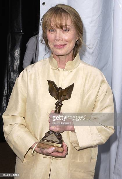 Sissy Spacek during The 17th Annual IFP/West Independent Spirit Awards Backstage at Santa Monica Beach in Santa Monica California United States