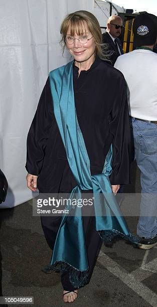 Sissy Spacek during The 18th Annual IFP Independent Spirit Awards Backstage at Santa Monica Beach in Santa Monica California United States