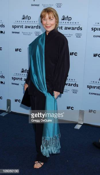 Sissy Spacek during The 18th Annual IFP Independent Spirit Awards Arrivals at Santa Monica Beach in Santa Monica California United States