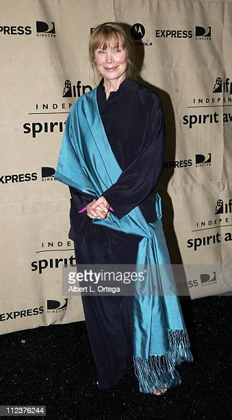 Sissy Spacek during The 18th Annual IFP Independent Spirit Awards Press Room at Press Tent Santa Monica Beach in Santa Monica California United States