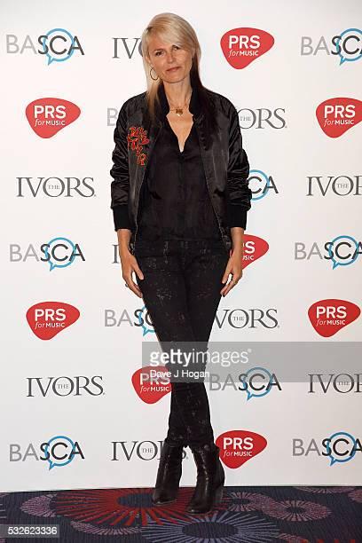 Sister Bliss arrives for the Ivor Novello Awards at Grosvenor House on May 19 2016 in London England