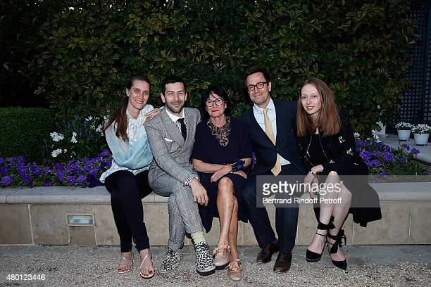 Sister in Law of Alexis Mabille Designer Alexis Mabille mother of Alexis Mabille Brother of of Alexis Mabille Martin Mabille and guest attend the...