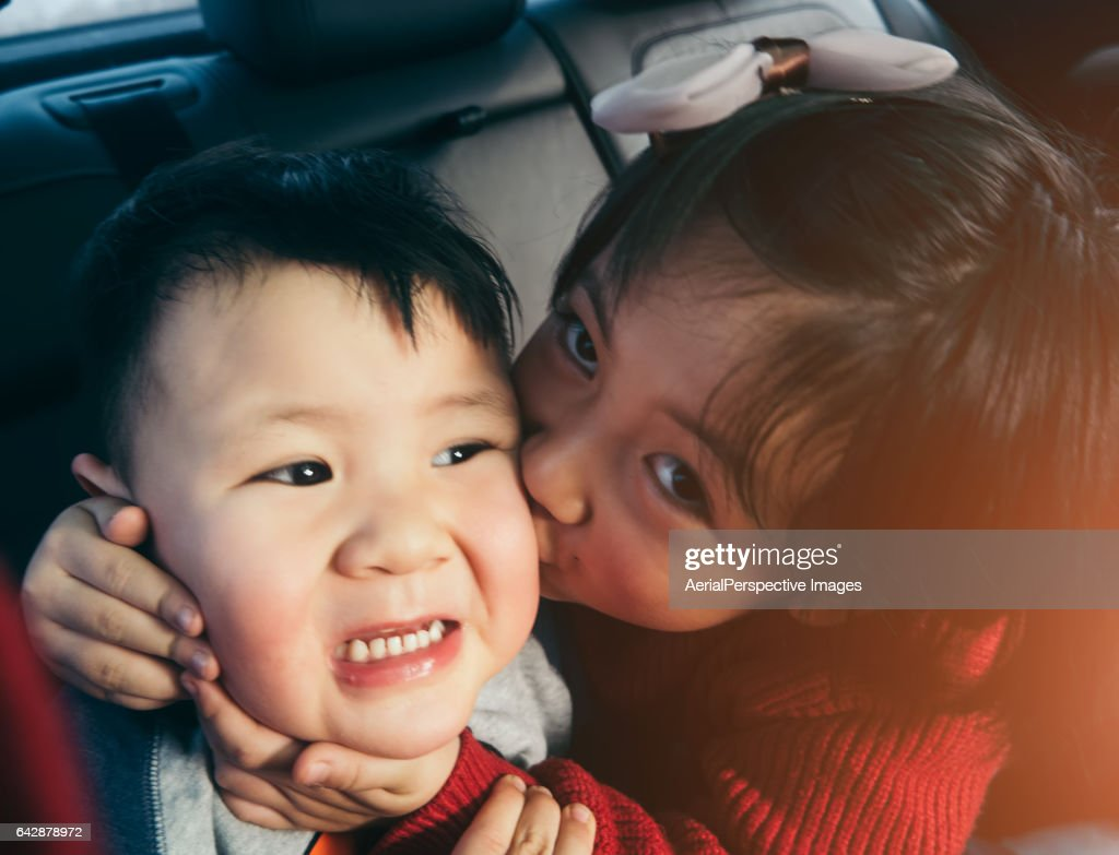 Brother sister in car fucked