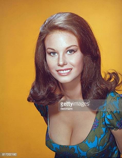 Sister of actress Natalie Wood Lana Wood in a publicity shot from Peyton Place the 1960's night time soap opera